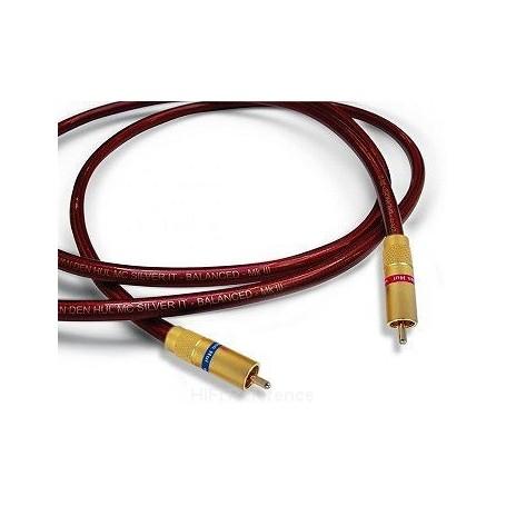 Cavo di interconnessione Van Den Hul MC SILVER IT MK III BALANCED RCA