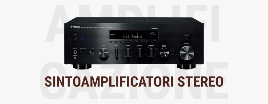 Sintoamplificatori Stereo Audio Stereomuch