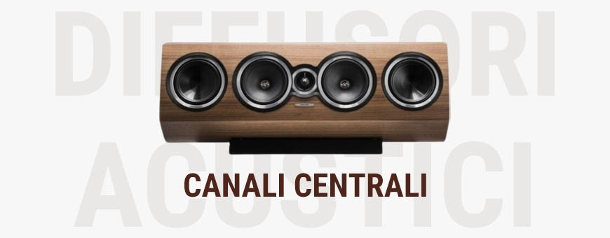 Diffusore Canale Centrale Audio Stereomuch